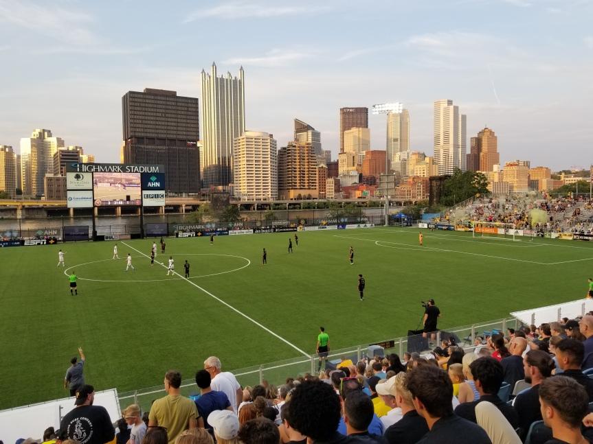 City Scenes: Pittsburgh Riverhounds at HighmarkStadium