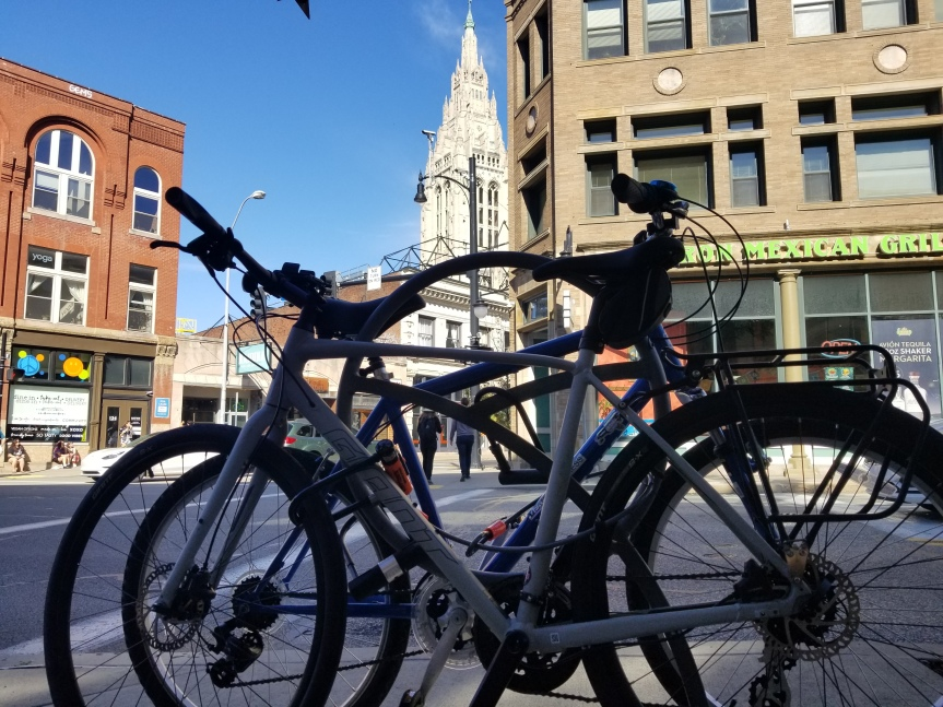City Scenes: Cycling to East Liberty, Oakland, and backagain